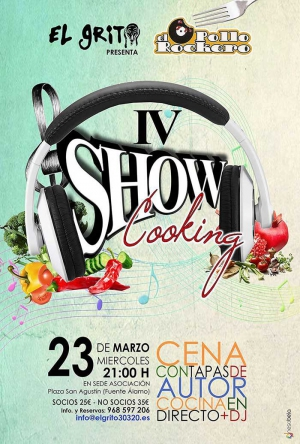 IV Show Cooking con El Pollo Rockero