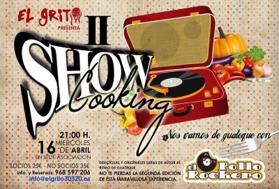 II Show Cooking Pollo Rockero
